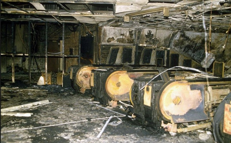 Kings cross fire Northern-Piccadilly Line 1987 by Courtley Health & Safety