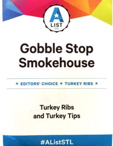 gobble stop smokehouse, barbecue, st. louis, BBQ