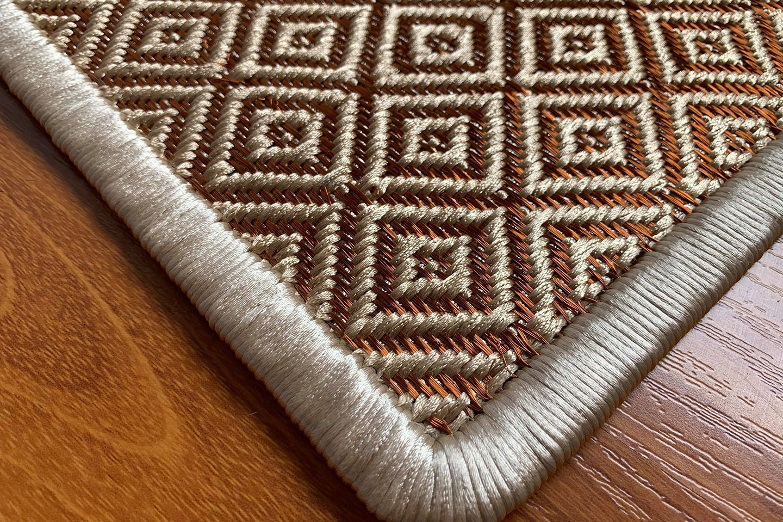 Gôbelins | Tapete Atlante | Gobelins Tapetes Artesanales Atlante Seda e hilos de cobre