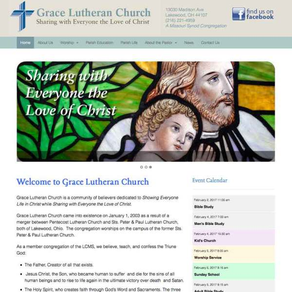 church web site
