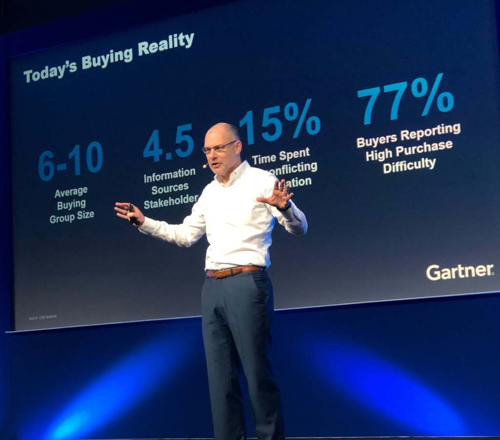 At Gartner Marketing Symposium/Xpo 2019, experts explore how B2B and B2C marketing leaders can drive commercial outcomes by helping customers.