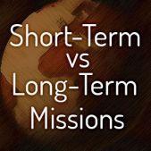 long vs short term mission