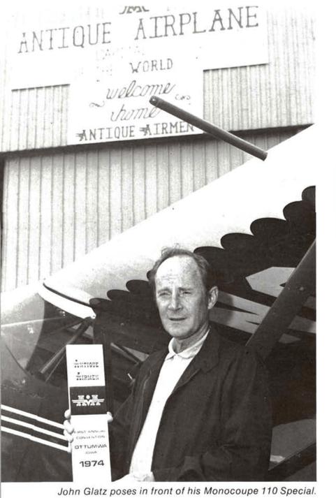 John Glatz EAA Vintage Sep 1975