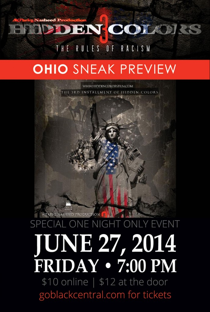 Ohio Premiere Of Hidden Colors 3 At The King Arts Complex Black Central