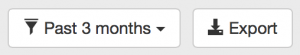 The export button on the transaction summary page