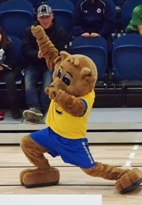 Bailey the Bobcat - Brandon University Athletics