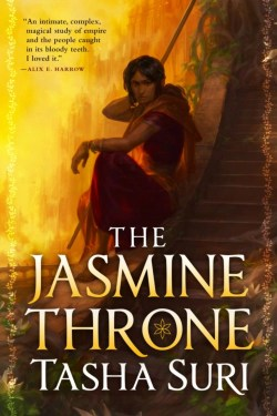 Best books my authors of India in June 2021 (The Jasmine Throne by Tasha Suri)