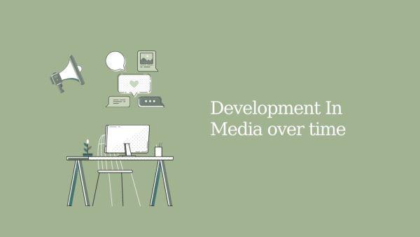 A Brief History of Online Media / Digital Media