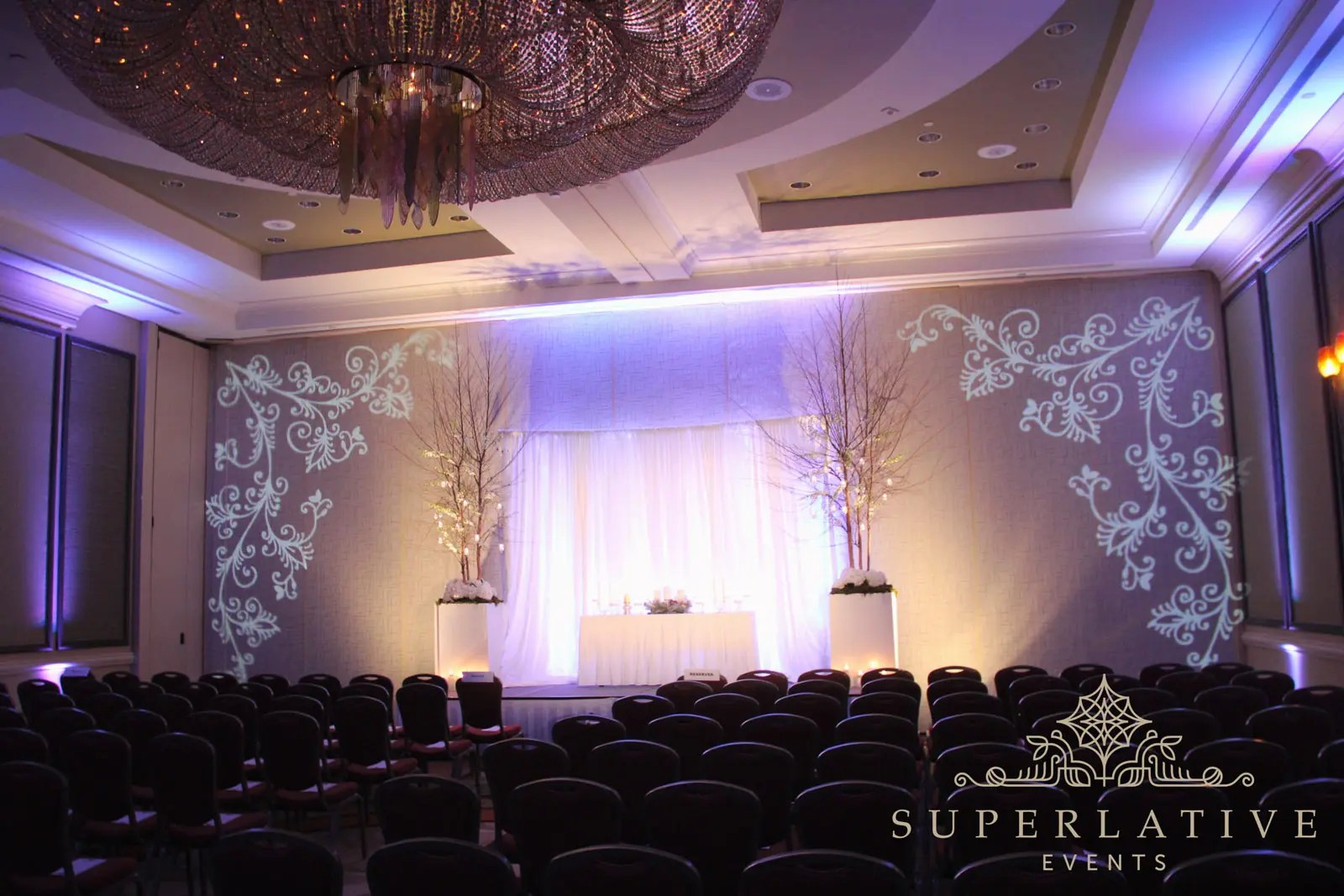 texture lighting transform your event paint with light