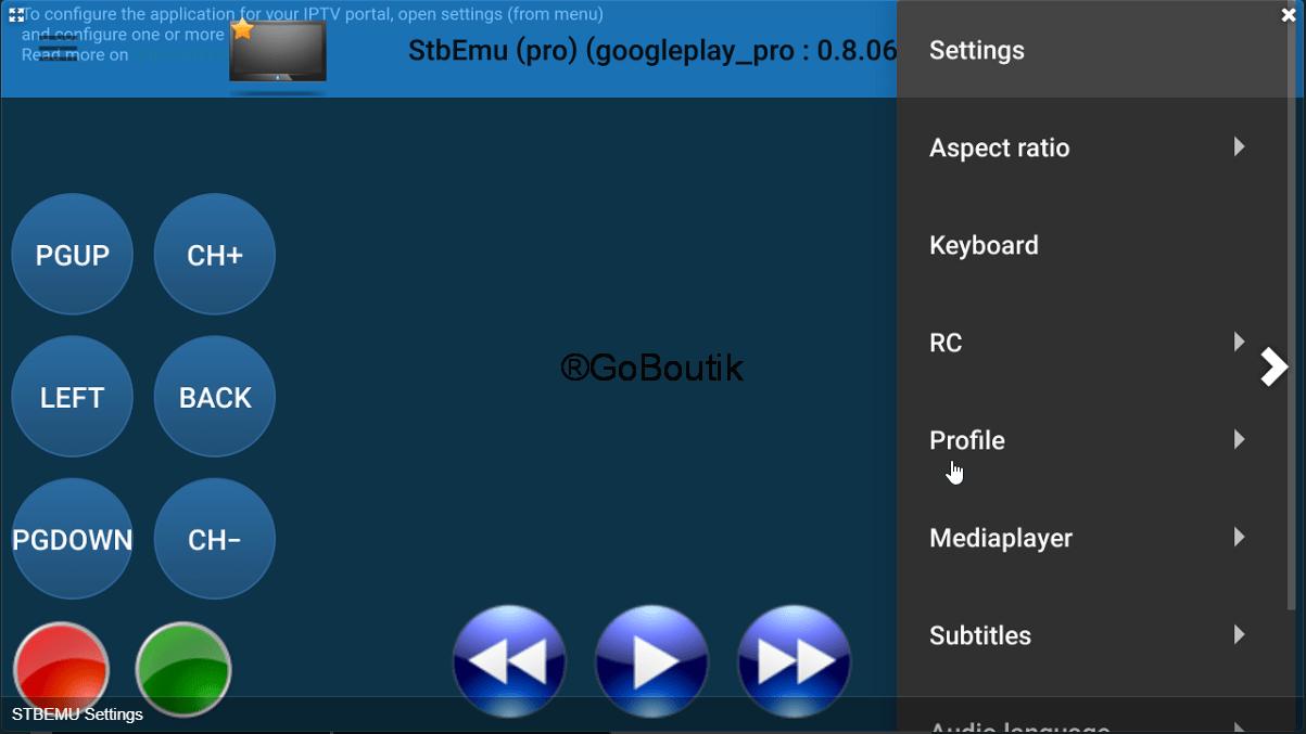 abonnement iptv premium stb emu pro pour android