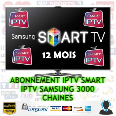 abonnement smart iptv samsung