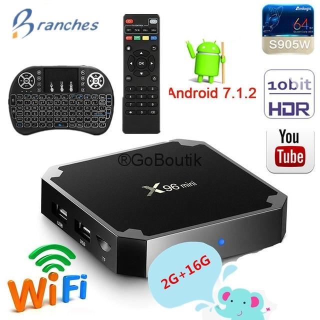 Android TV Box X96 mini