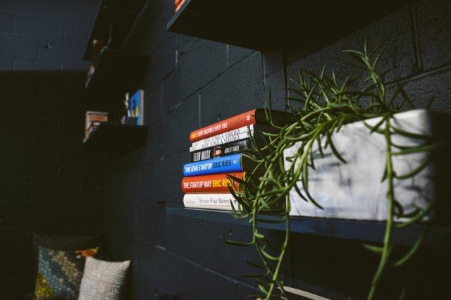 Monochrome reading area   All photos by: Calyssa Lorraine, Founder of Calyssa Lorraine Photography