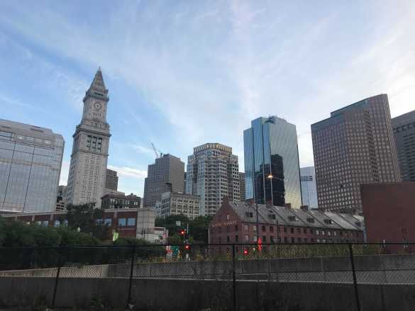 A Boston landscape.