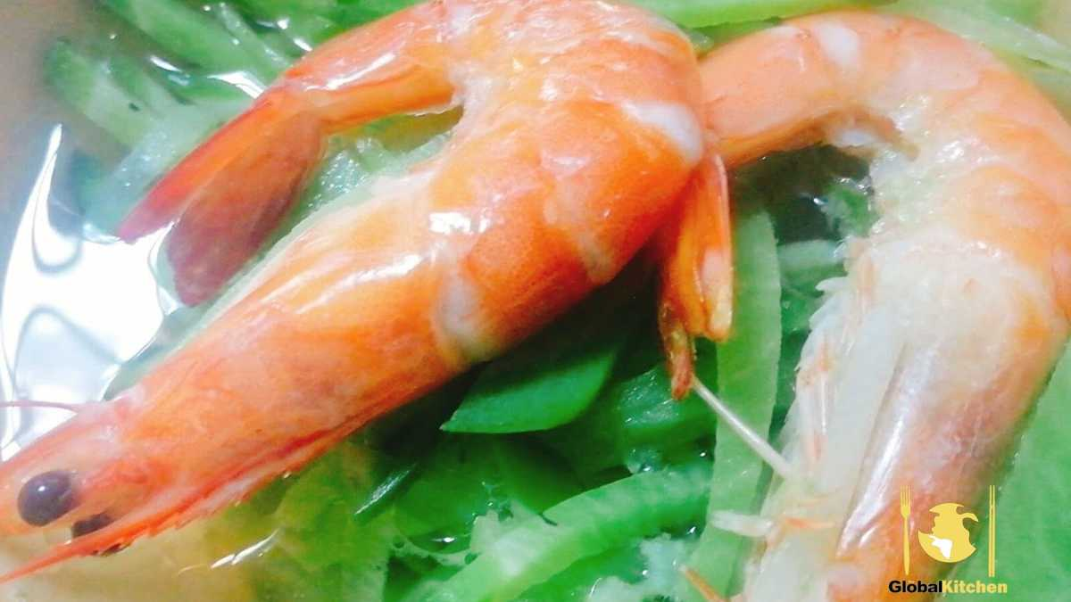 [Recipe] LuoBo Xia: A seafood dish from eastern China