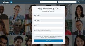 LinkedIn Sign in