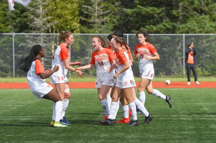 Capers open AUS women's soccer regular season with 7-2 victory over Huskies