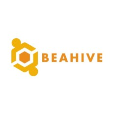 Logo and link for coworking spot Beahive