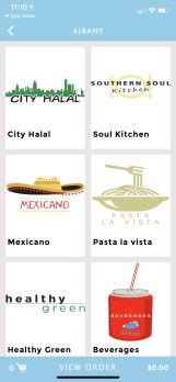 App for Could Food Hall, Albany