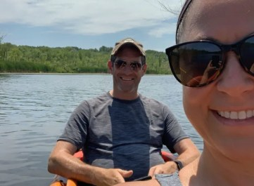 Two-person Kayak in Saratoga