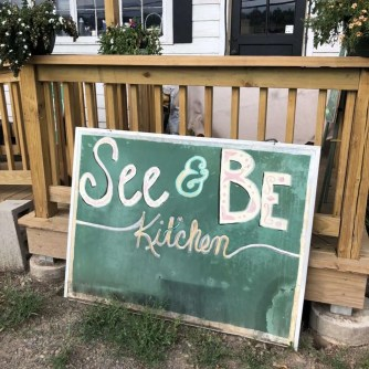 SEE & BE sign