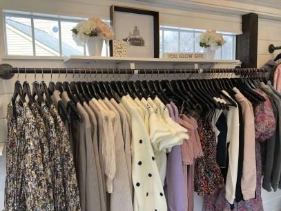 Clothing rack, Upstate Fashion