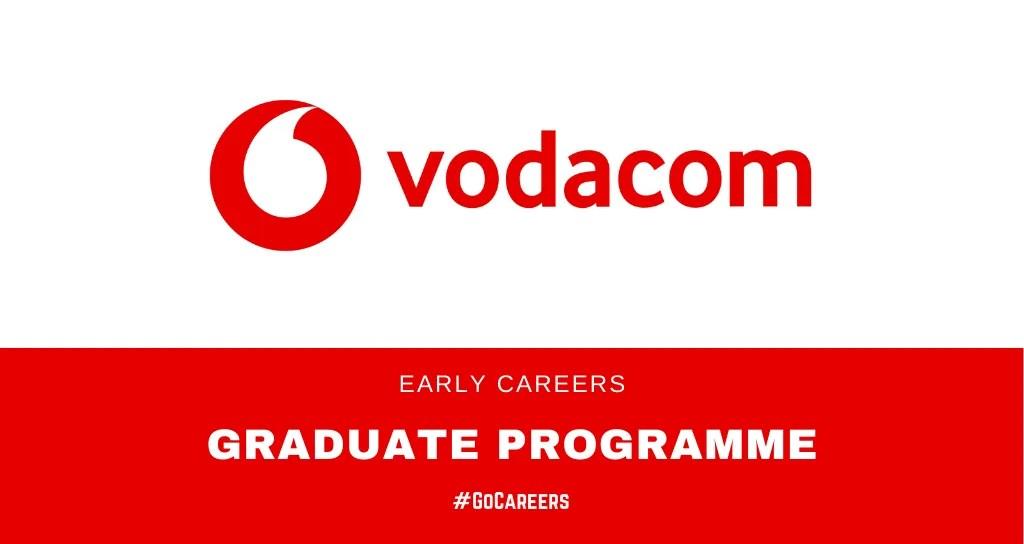 Vodacom SA: Early Careers Programme 2021 – GoCareers