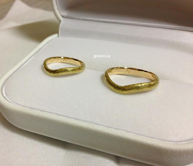 結婚指輪とケース