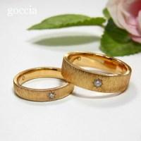 ゴールドのマリッジリング・結婚指輪