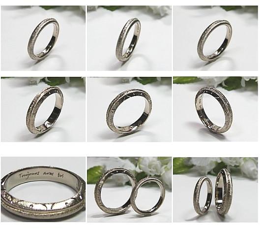 クラシックな結婚指輪・マリッジリング