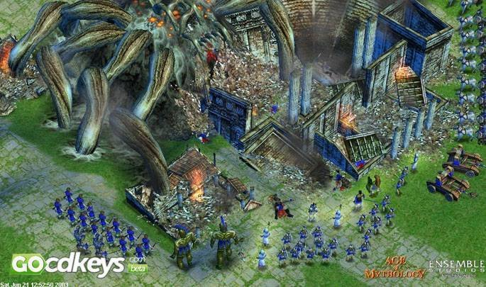 Acheter Age Of Mythology Extended Edition Pc Cd Key Pour