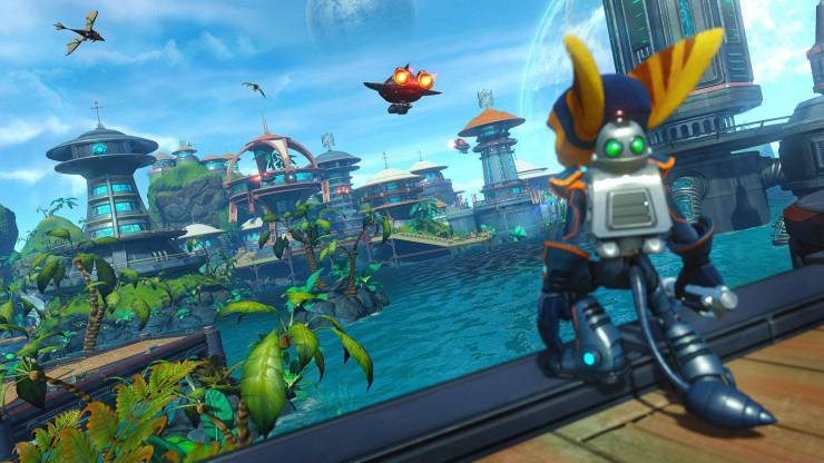 Ratchet & Clank gratis playstation ps4 ps5 play at home