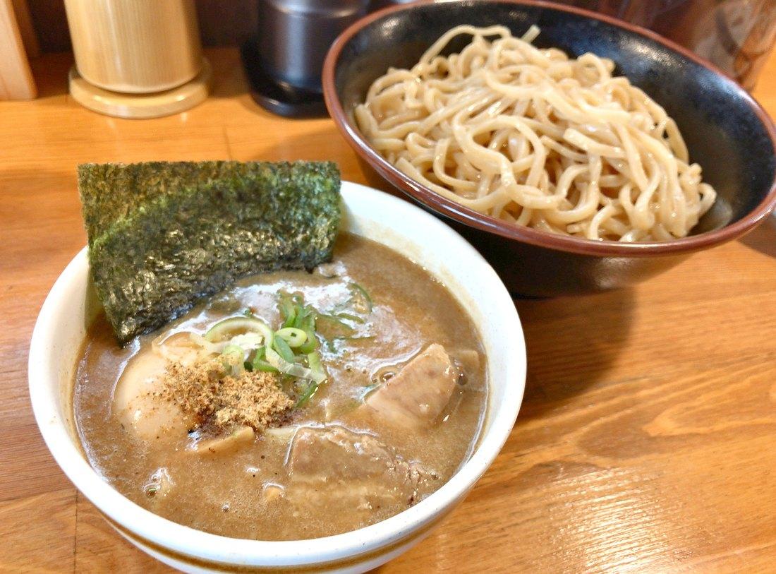 三豊麺 芝公園店 濃厚魚介つけ麺