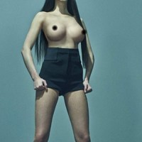Kendall Jenner shows off Boobs for LOVE Magazine