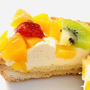 Uchi Café フルーツタルト 4種のフルーツの断面画像