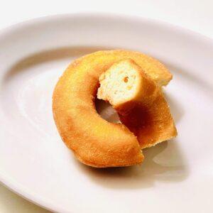 糖質50%オフのロカボドーナツをパッカン