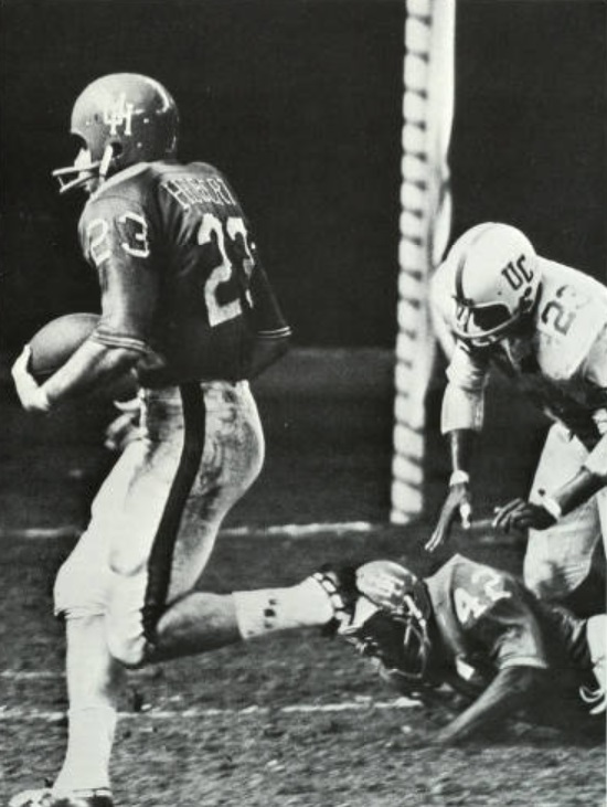 1965 Kenny Hebert scores first TD in Dome v Cincy