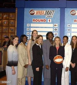 Chandi was selected by the Phoenix Mercury 8th overall before being traded on draft day