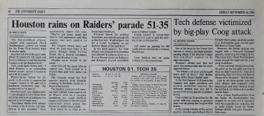Game Story - Tech Student Newspaper