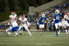 More good form tackling on Tulsa special teams