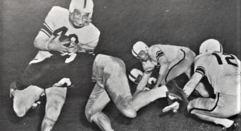 Running Back Tommy Bails - 1954 vs Texas A&M