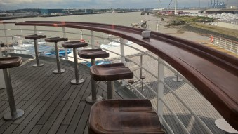 Watch the world go by from Neptune Observation Bar