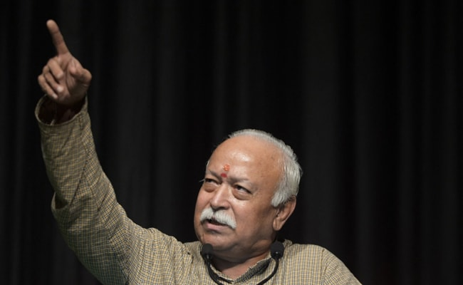 """""""We Still Feel Pain Of Partition"""", Says RSS Chief Mohan Bhagwat"""