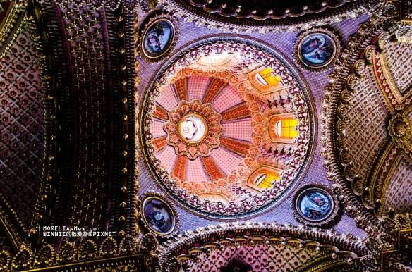 Dome in Santuario de Guadalupe