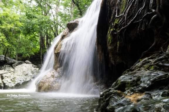 Hot Waterfall at Finca el Paraiso