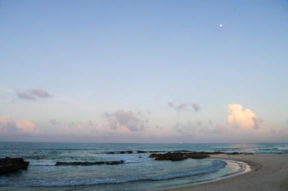 Half Moon at Half Moon Bay