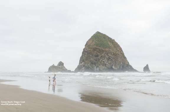 Goonie's Rock near Cannon Beach, OR