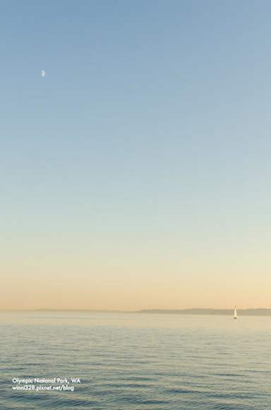 Sunset Sailing on Puget Sound