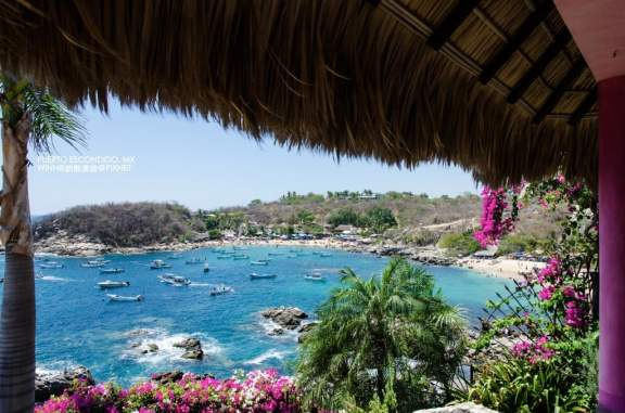 Playa Manzallo from Casa Grande