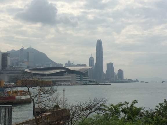The Overcast HK Skyline